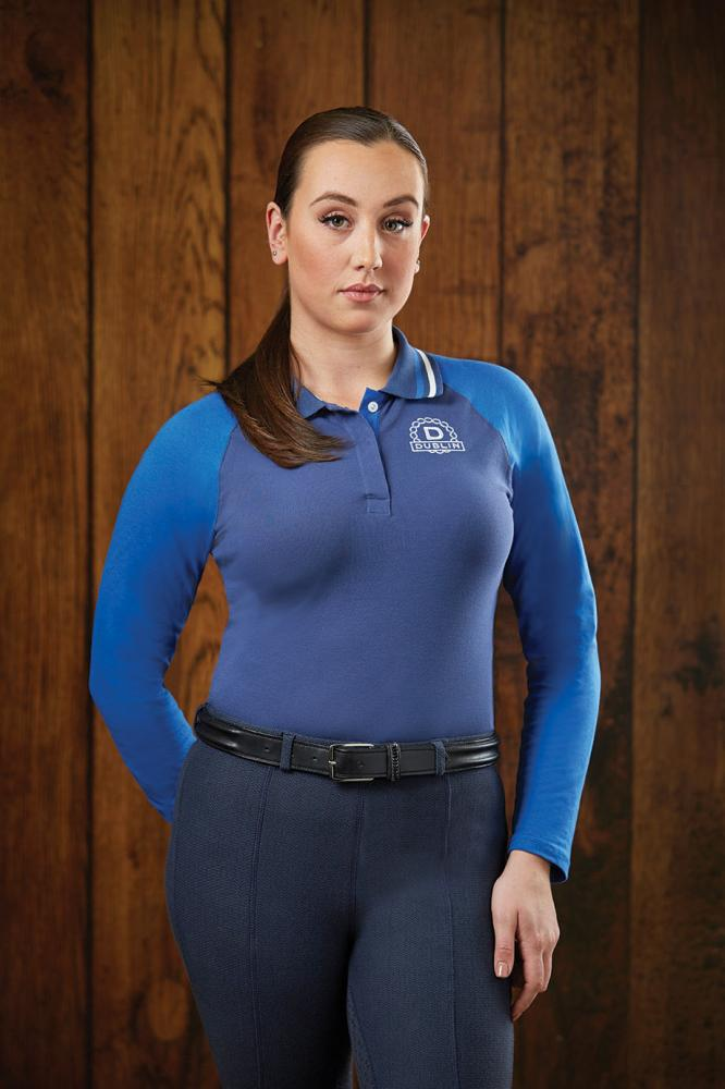 Dublin Ashley Long Sleeve Polo