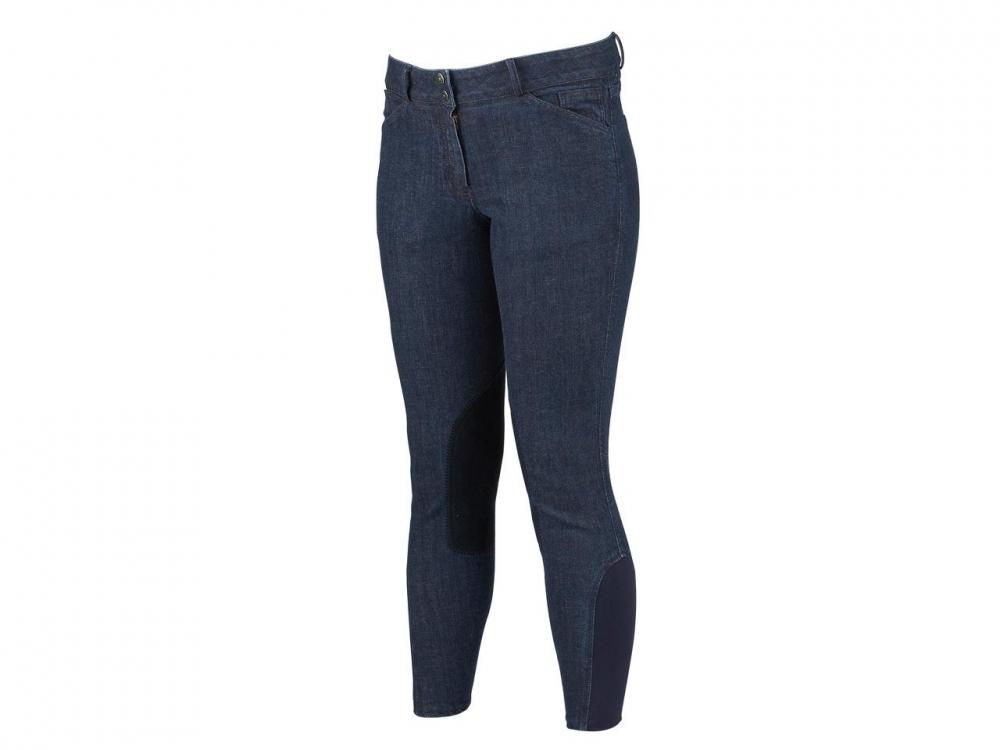 Dublin Supa Shape It Denim Clarino Knee Breeches