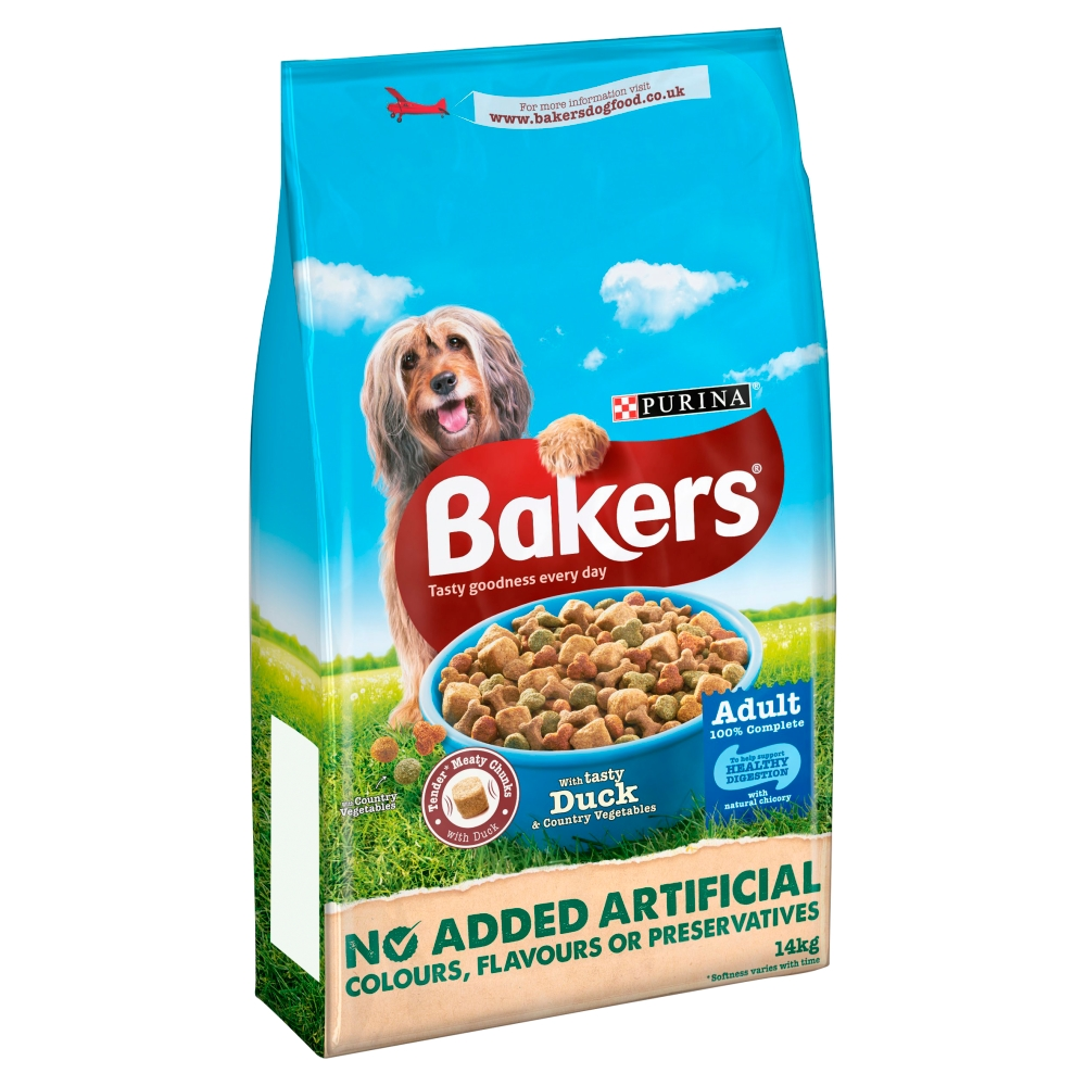Bakers Complete Adult Duck & Vegetables Dog Food