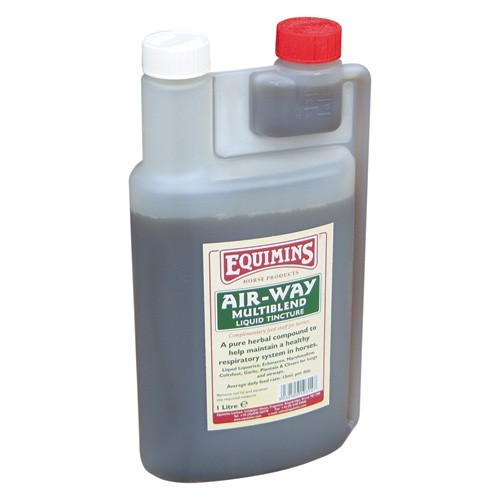 Equimins Air Way Liquid Herbal Tincture for Horses