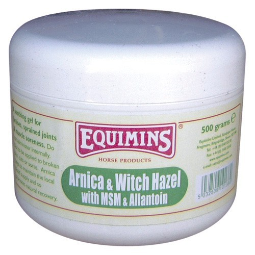 Equimins Arnica & Witch Hazel Gel for Horses