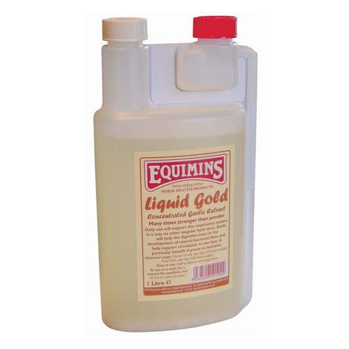 Equimins Liquid Gold Concentrated Garlic Extract for Horses
