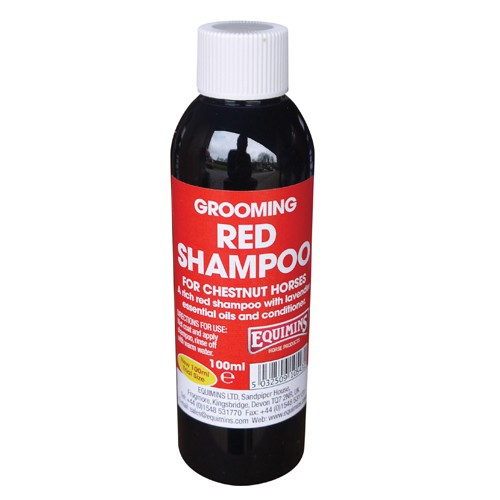 Equimins Red Shampoo for Horses