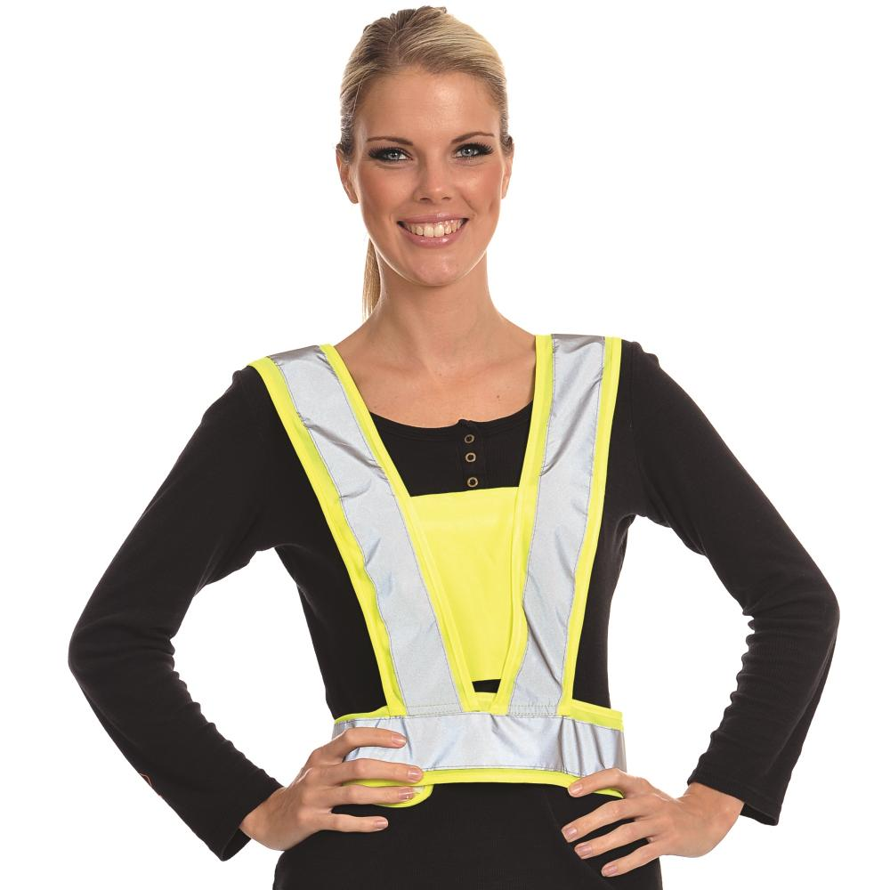 Equisafety Reflective Body Harness