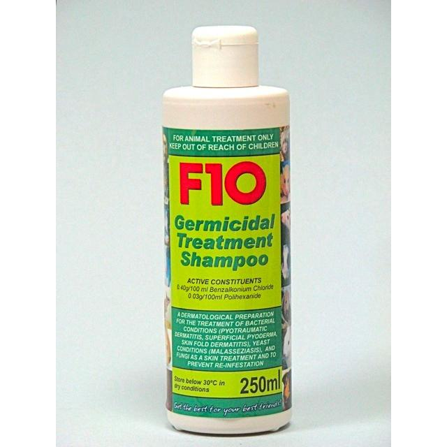 F10 Products Germicidal Treatment Shampoo