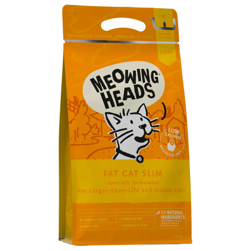 Meowing Heads Fat Cat Slim Cat Food