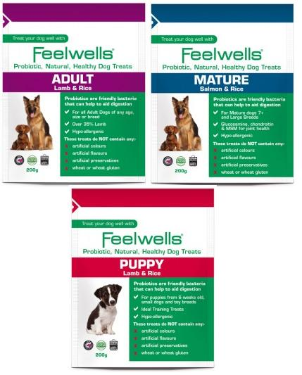 Feelwells Probiotic Dog Treats