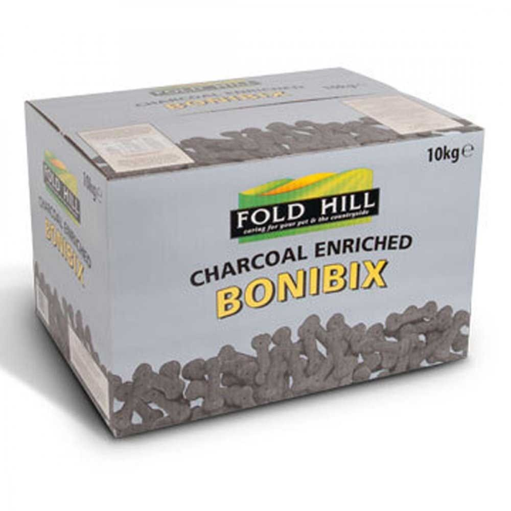 Fold Hill Bonibix Charcoal Bones Dog Treats