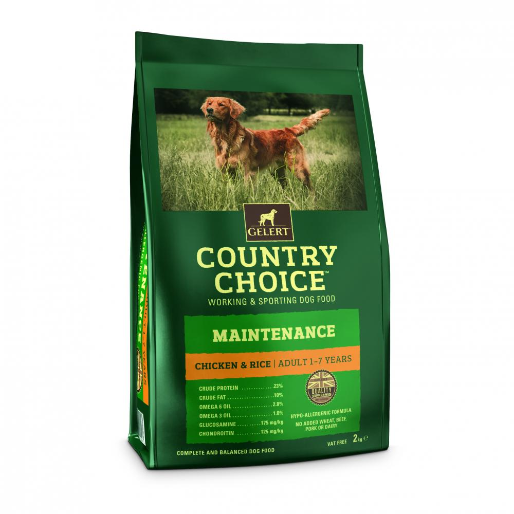 Gelert Country Choice Maintenance Dog Food