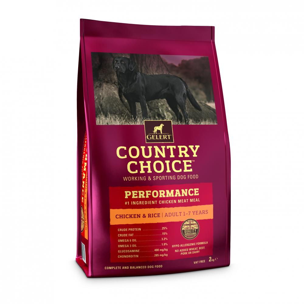 Gelert Country Choice Performance Dog Food