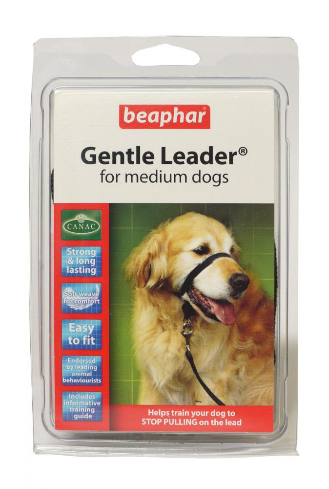 Beaphar Gentle Leader Black Dog Head Collar
