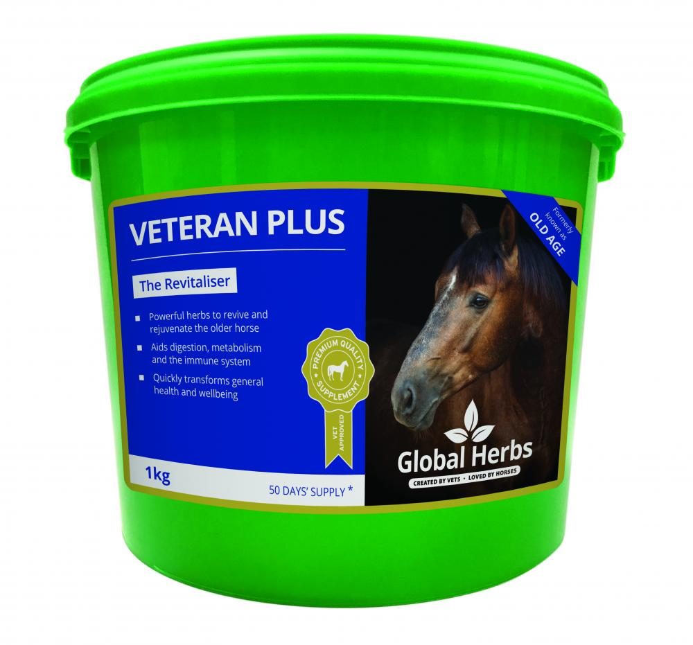 Global Herbs Veteran Plus for Horses