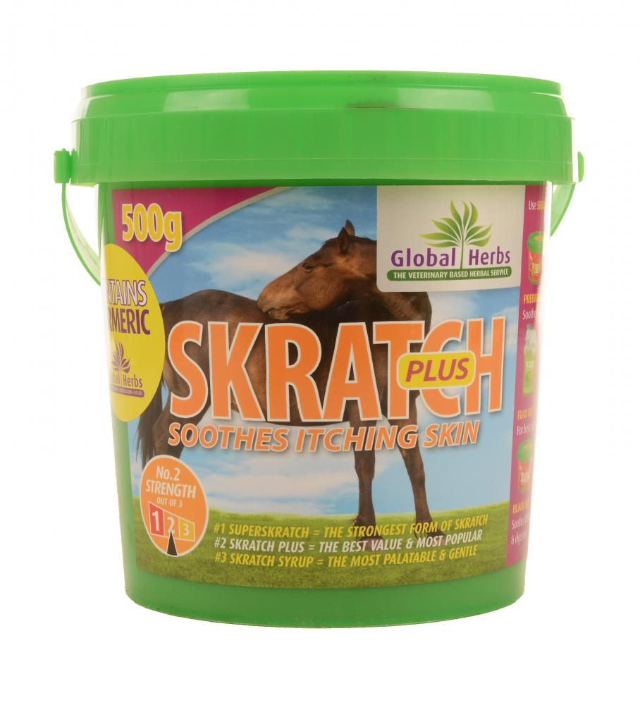 Global Herbs Skratch Plus for Horses
