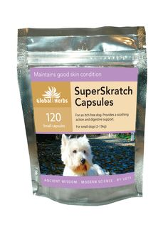 Global Herbs SuperSkratch Capsules for Dogs