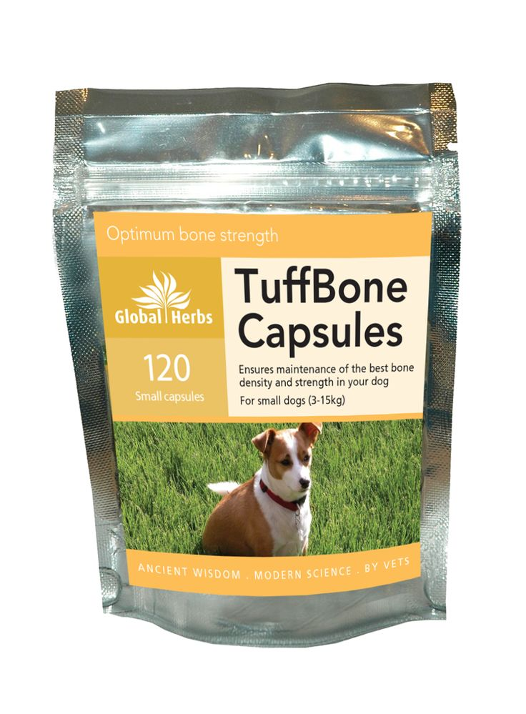 Global Herbs TuffBone Capsules for Dogs