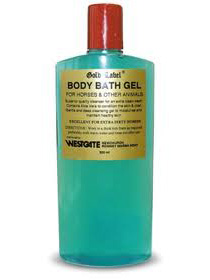 Gold Label Body Bath Gel for Horses