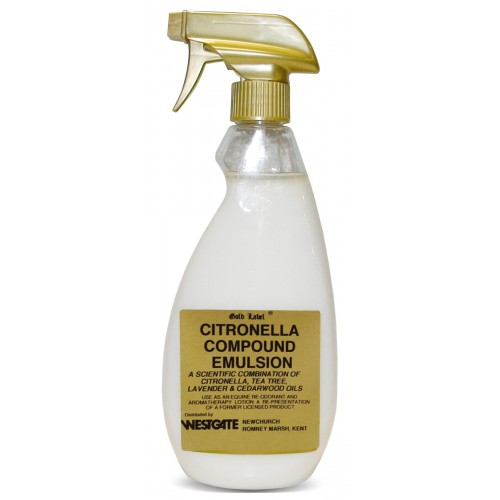 Gold Label Citronella Compound Emulsion for Horses