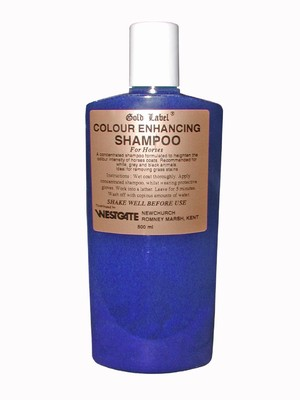 Gold Label Colour Enhancing Shampoo for Horses