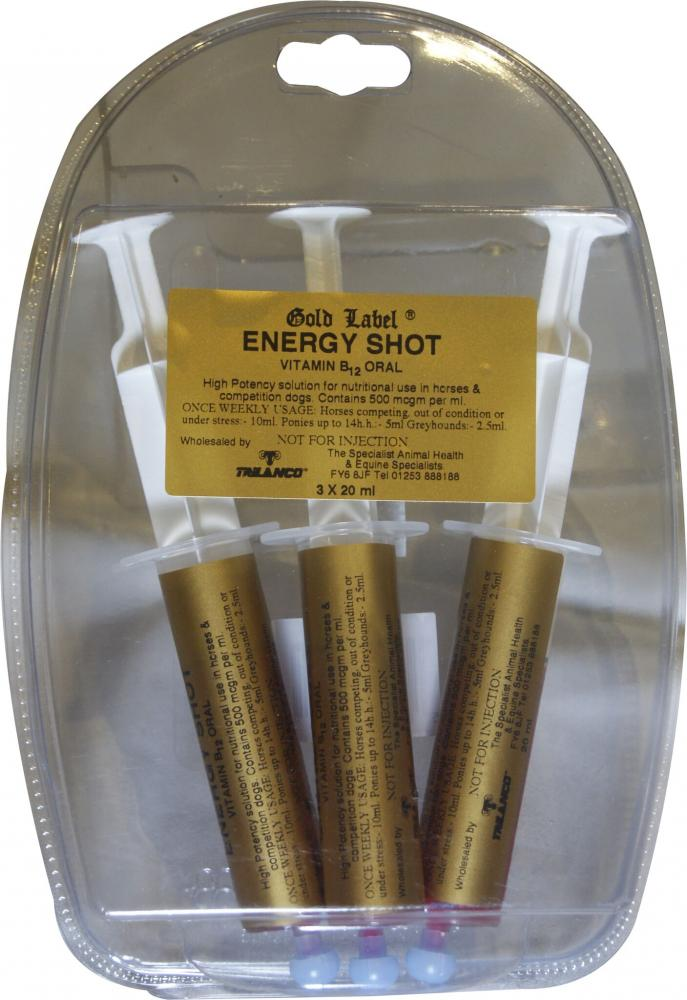 Gold Label Energy Shot