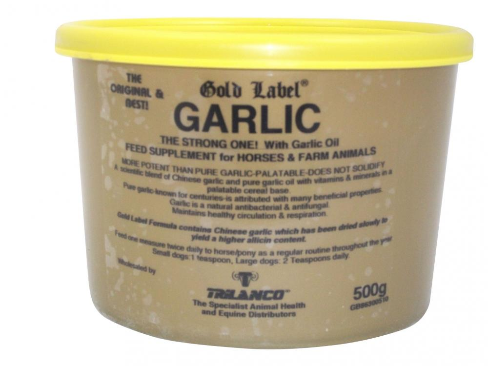 Gold Label Garlic Supplement for Horses