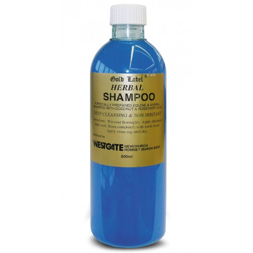 Gold Label Herbal Shampoo for Horses