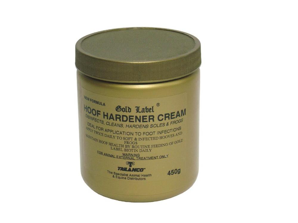 Gold Label Hoof Hardener Cream for Horses