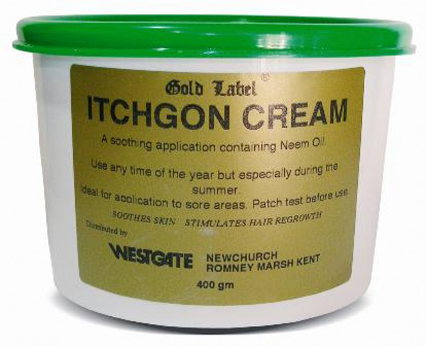 Gold Label Itchgon Cream for Horses