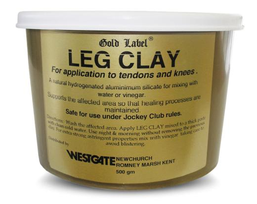 Gold Label Leg Clay for Horses