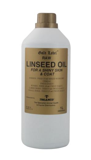 Gold Label Linseed Oil for Horses
