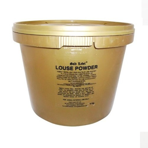 Gold Label Louse Powder for Horses