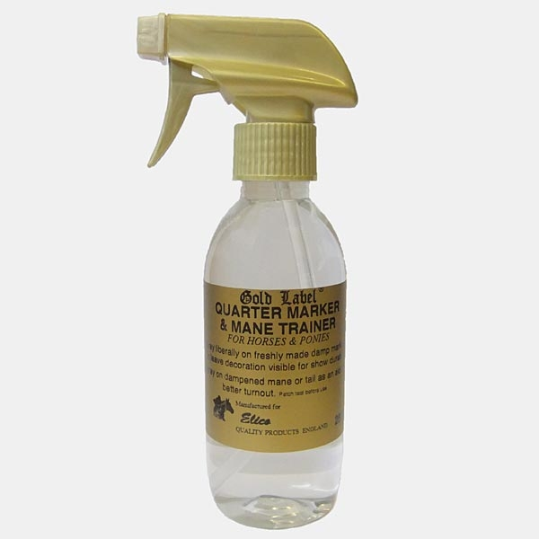 Gold Label Quarter Marker Spray for Horses