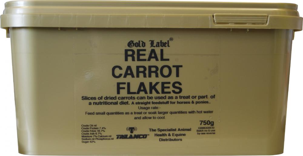 Gold Label Real Carrot Flakes