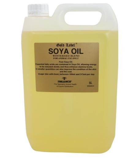 Gold Label Soya Oil for Horses