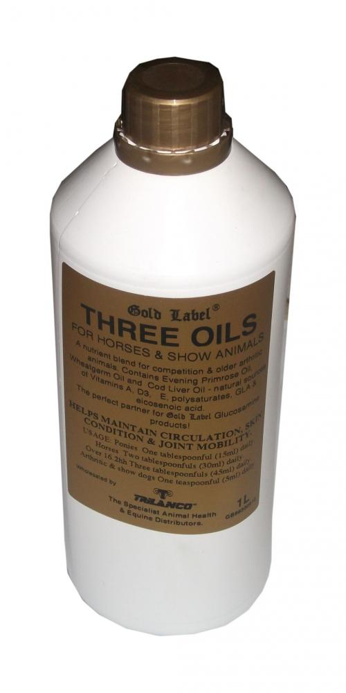 Gold Label Three Oils for Horses