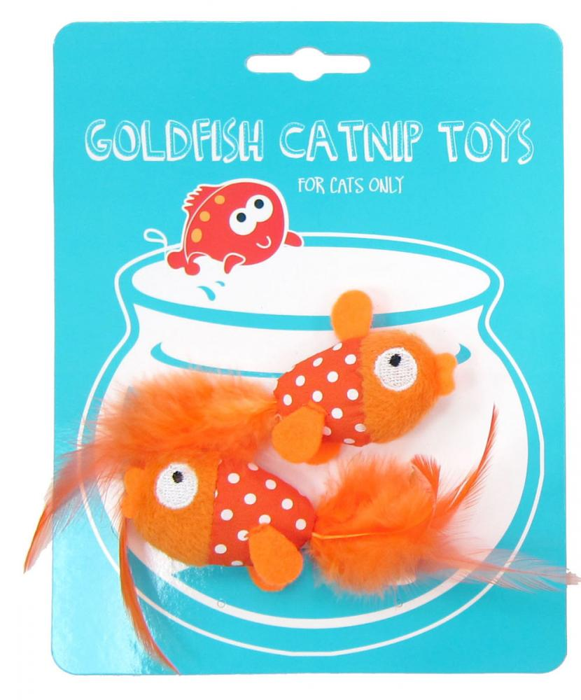 Goldfish Catnip Toy