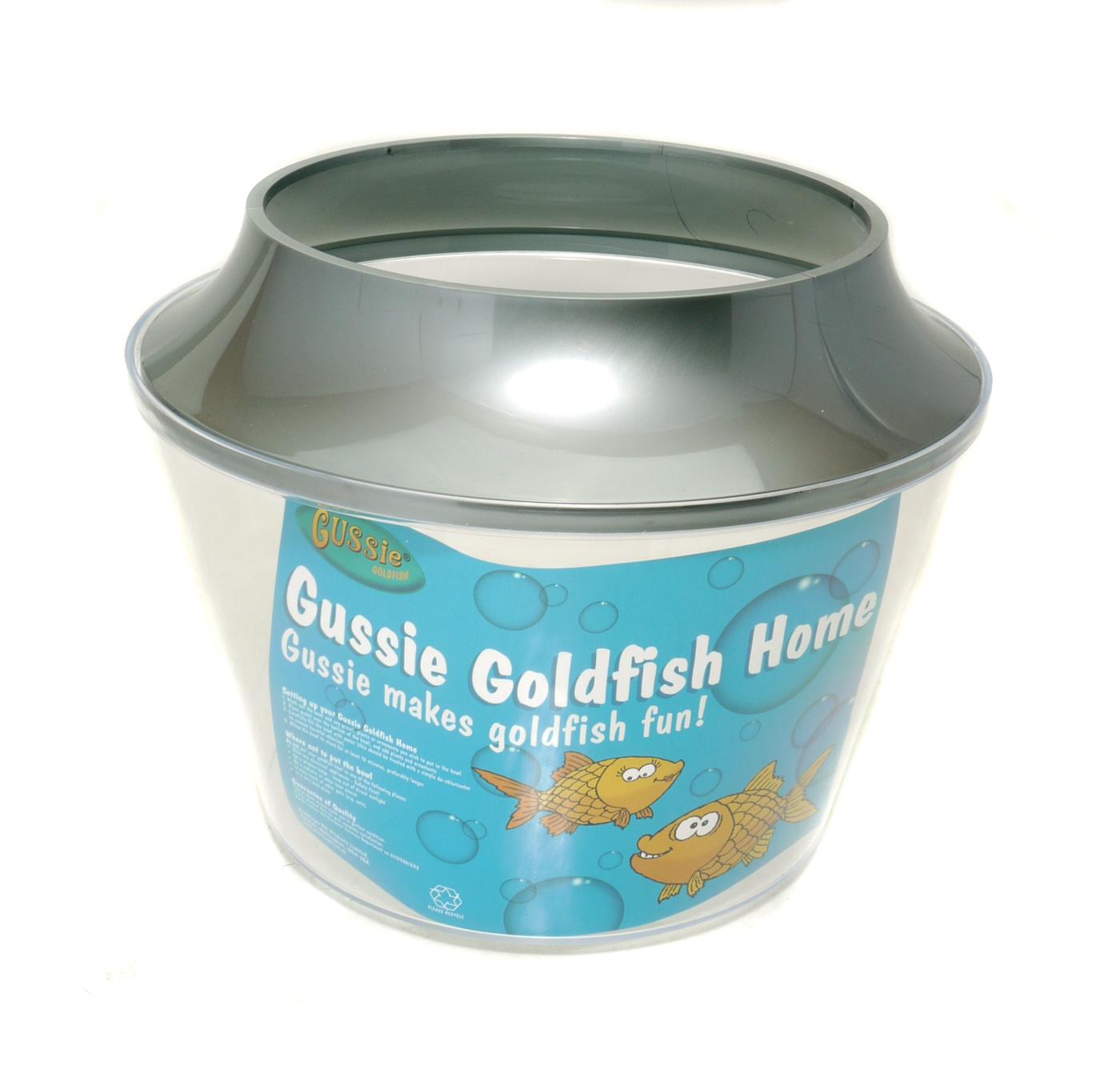 Gussie goldfish bowl for Small plastic fish bowls