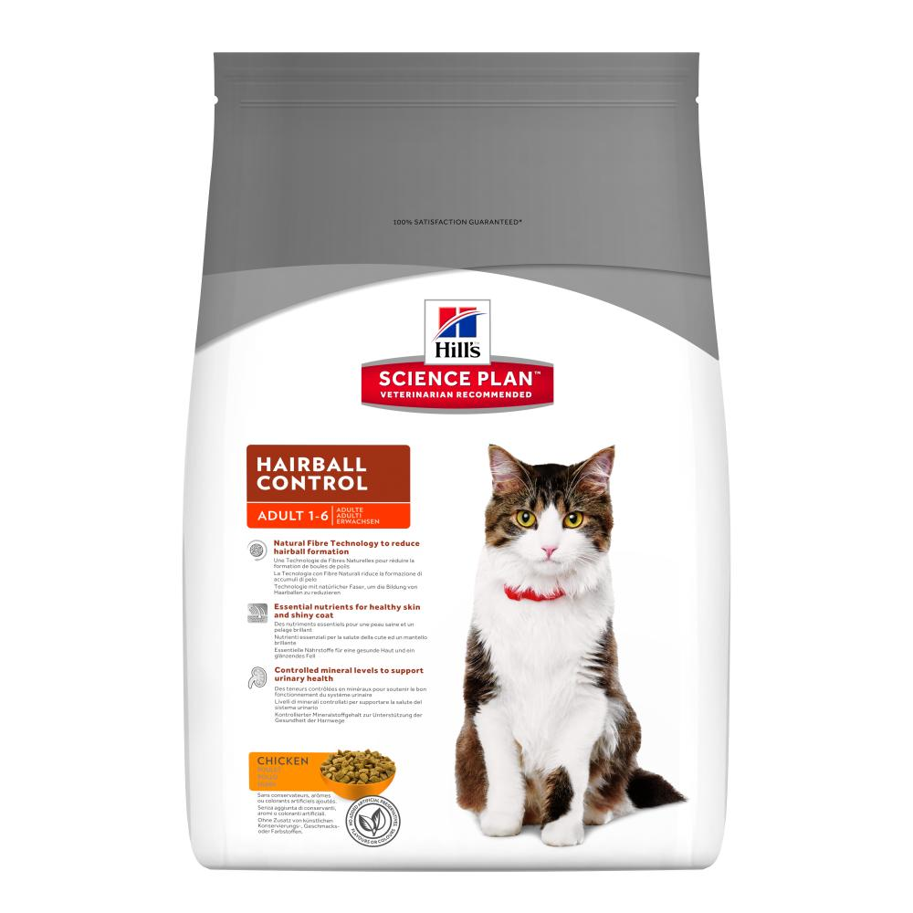 Hills Science Plan Hairball Control Cat Food