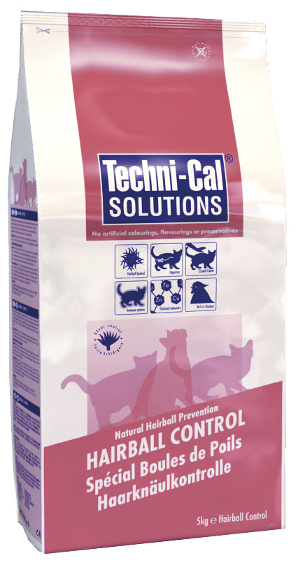 Techni-Cal Solutions Hairball Control Cat Food