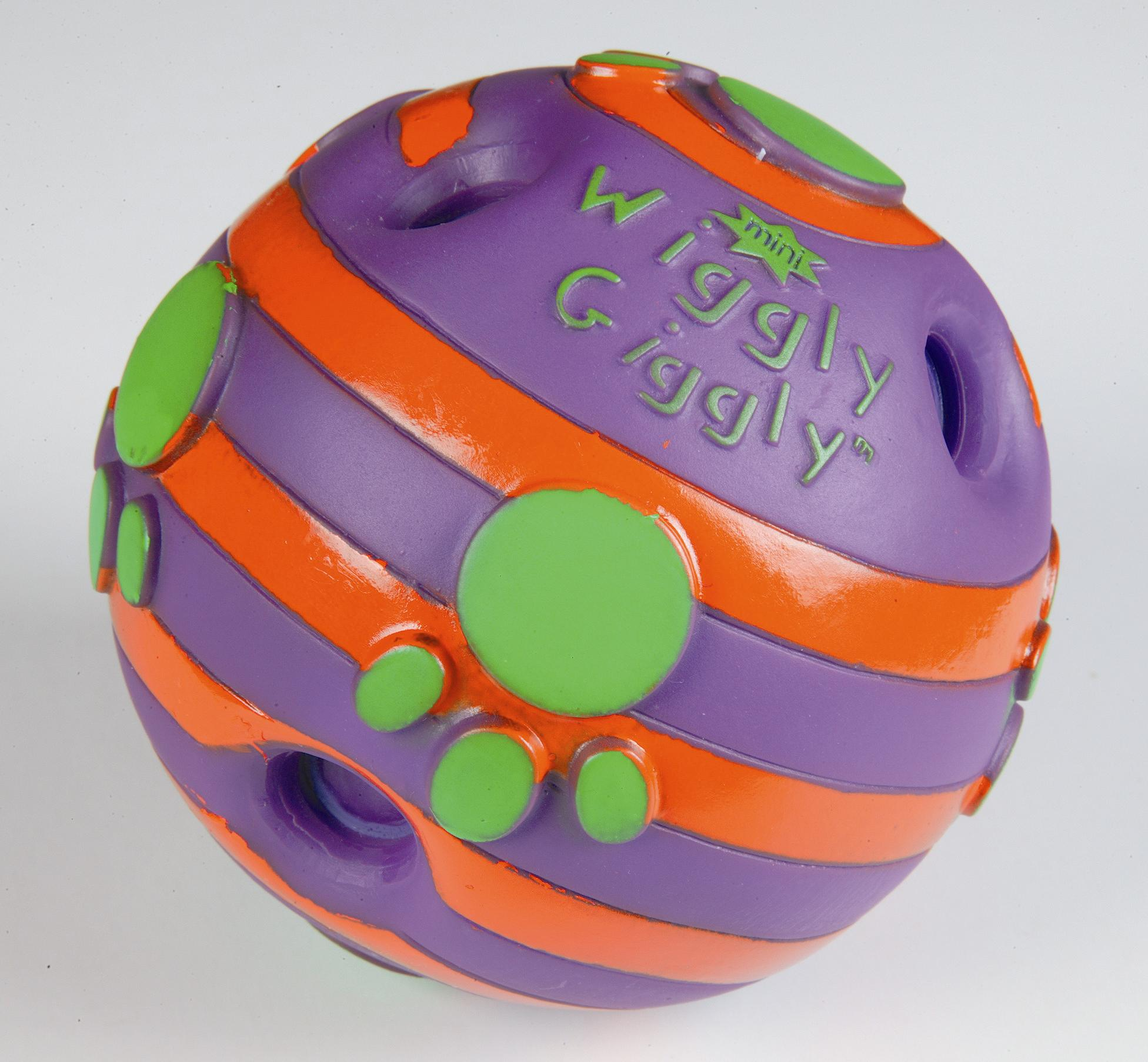 Happy Pet Wiggly Giggle Mini Ball Dog Toy