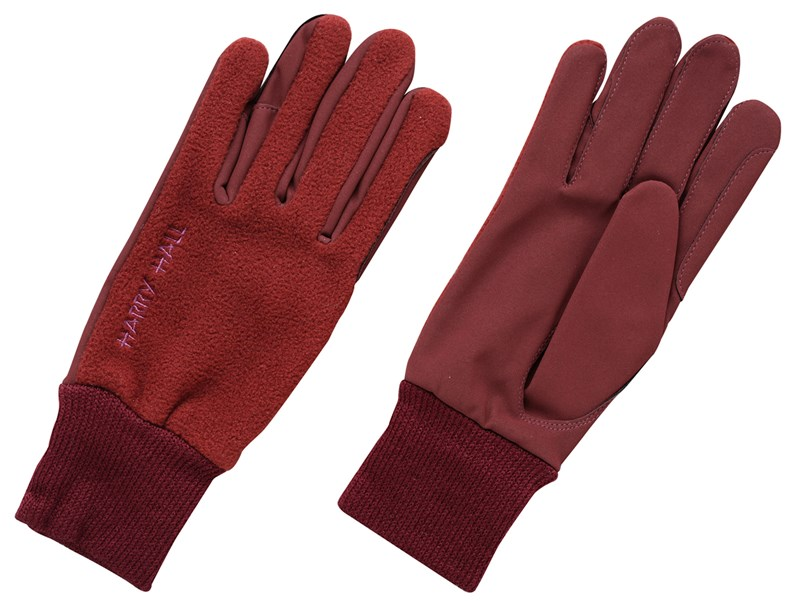 Harry Hall Fleece/Domy Suede Riding Glove