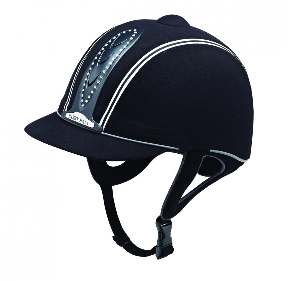 Harry Hall Legend Crystal Plus Riding Hat Junior