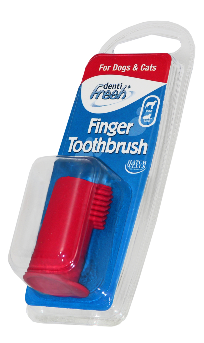 Hatch Wells Finger Toothbrush for Dogs & Cats