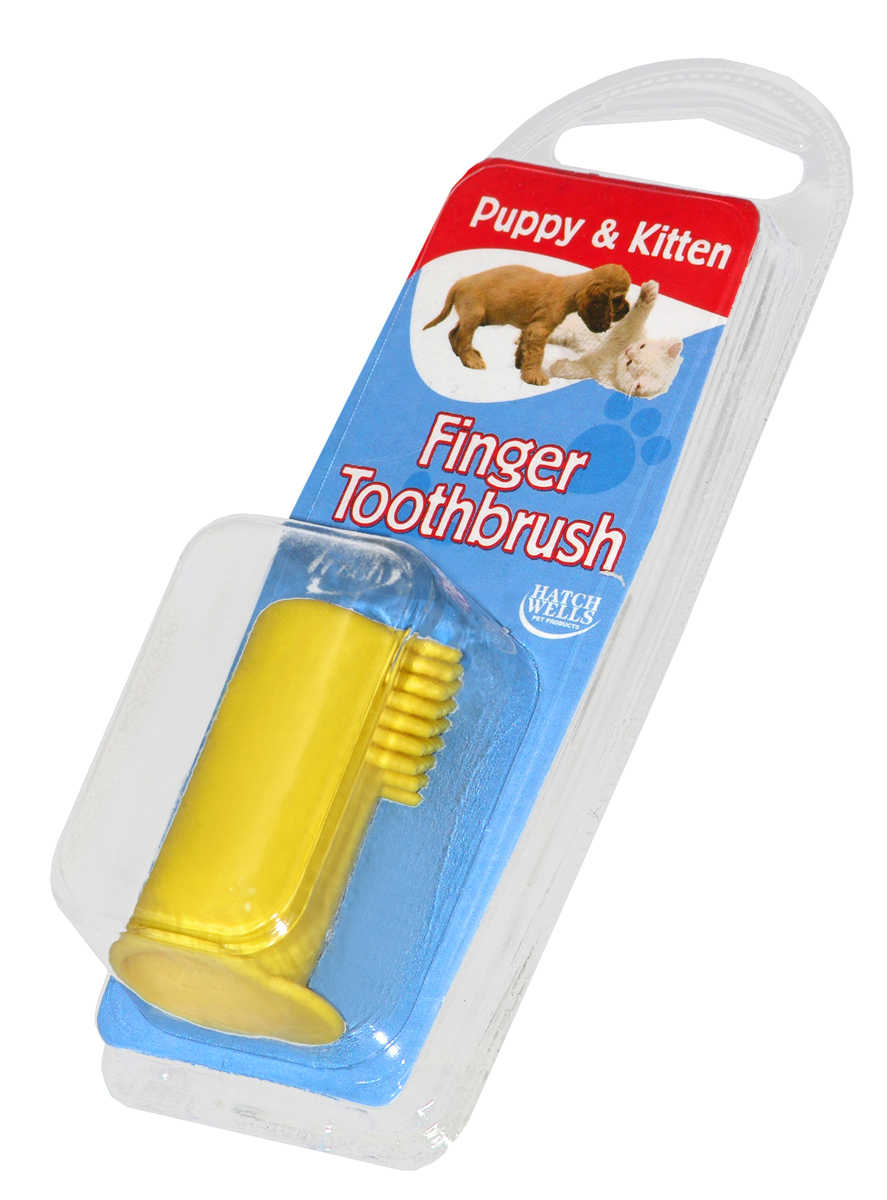 Hatch Wells Puppy/Kitten Finger Toothbrush
