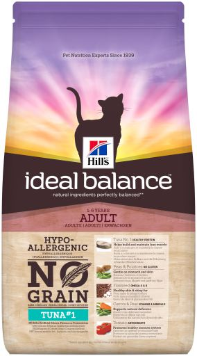 Hill's Ideal Balance Adult No Grain Tuna & Potato Cat Food