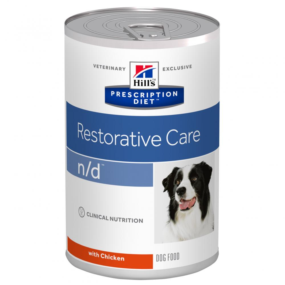 Hill's Prescription Diet n/d Restorative Care with Chicken Canned Dog Food