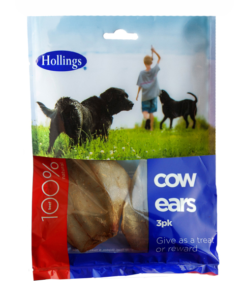 Hollings Cow Ears For Dogs