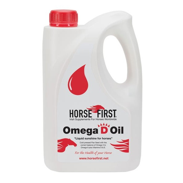 Horse First Omega D Oil for Horses