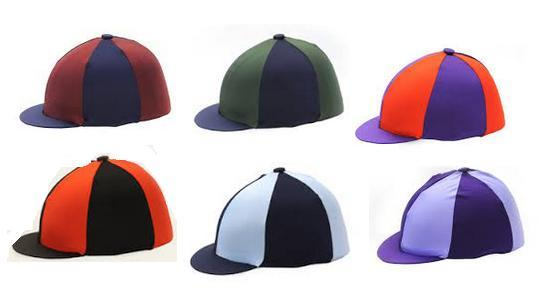 Hy Two Tone Lycra Cap Silks