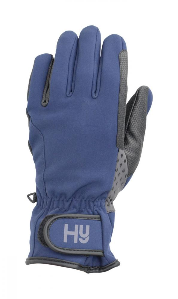 Hy5 Water Repellant Softshell Riding Gloves
