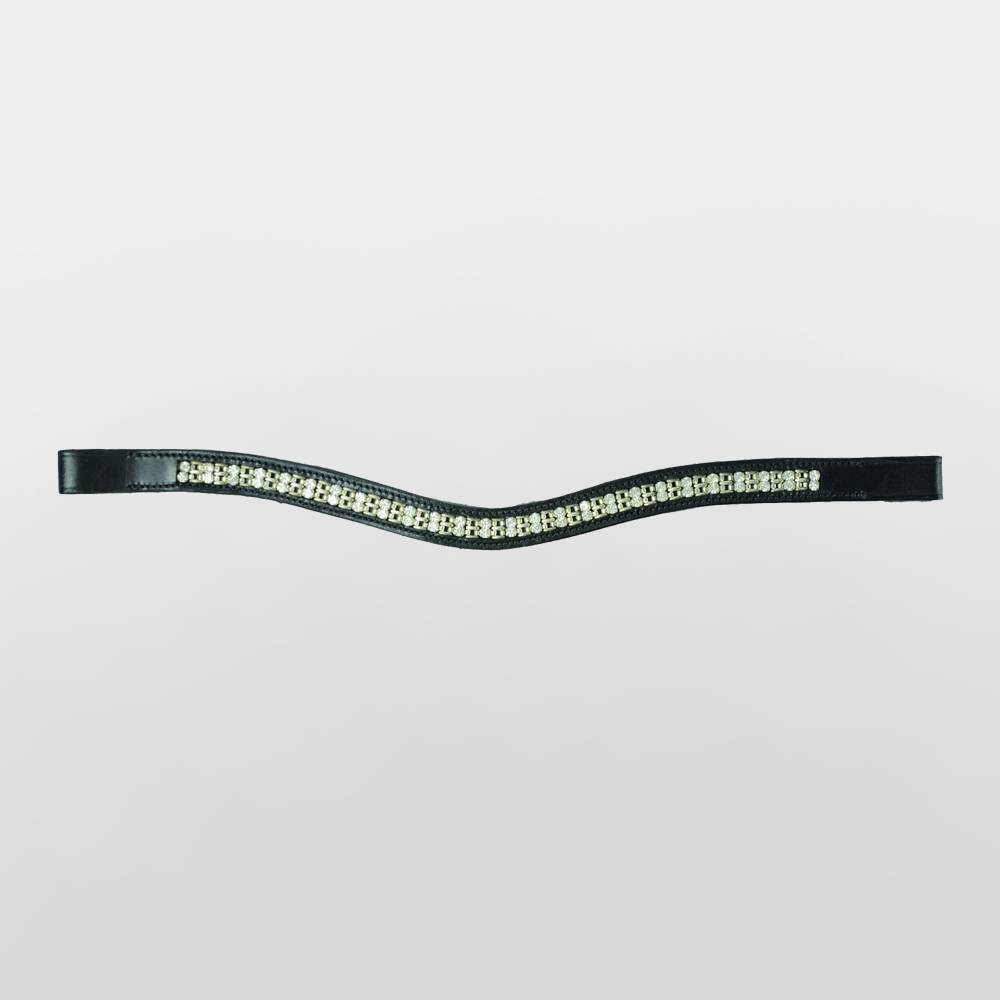 HyCLASS Diamante Chain Curved Brow Band